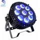 RGBWAUV 6 In1 Outdoor Stage Led Par Light Ip65