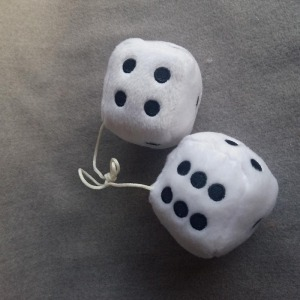 cute design nice embroidery soft toy dice plush dice toy