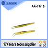 Custom AA-11/15 Widely use Stainless Steel ESD Tweezers
