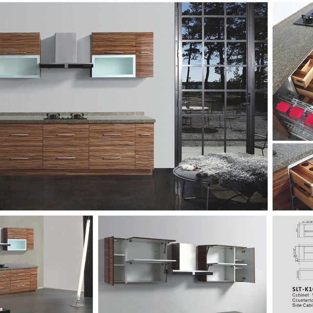 With 16 Years Manufacturer Experience Factory Supply Melanine Modern Mdf  Kitchen Cabinet For 2015