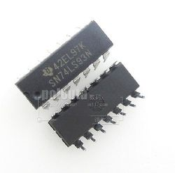 10. SN74LS93N 74LS93 IC 4-BIT BINARY COUNTER 14-DIP NEW