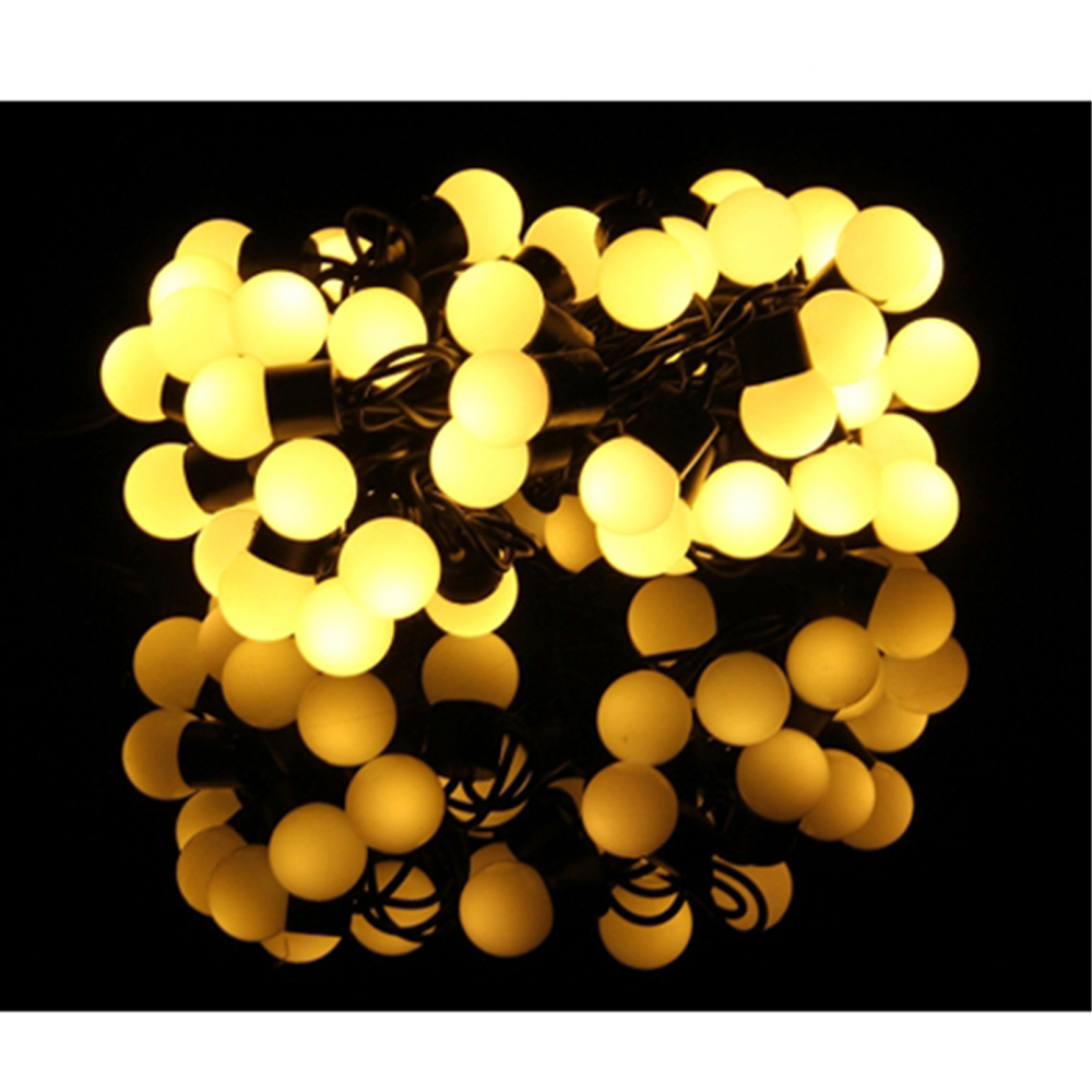 Hot Selling 5m 50 LED Life Waterproof Mini Globe String Lights Without End Joint and Controller