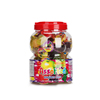 Healthy natural fruit flavours dessert mini jelly china halal candy