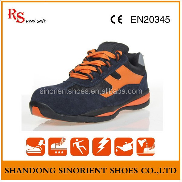 Active Safety Cold Cement Shoes Rubber Bottom Hiking Safety Shoes ...