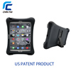 Factory OEM silicone shockproof heavy duty case for iPad air 2 tablet with back stand and speaker