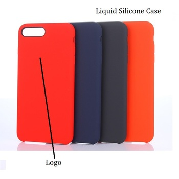 For iPhone x Silicone Case Gel Rubber Shockproof Cover Silicone Case for Apple iPhone 8 Plus 7 plus