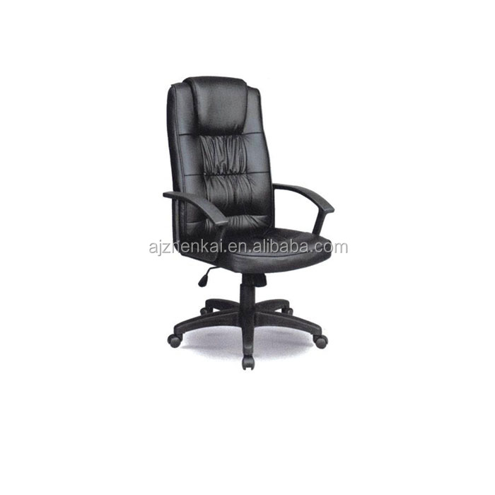Anji Best Sales Luxury PU leather Office Chair Manager Direct Using HIgh back office swivel chair