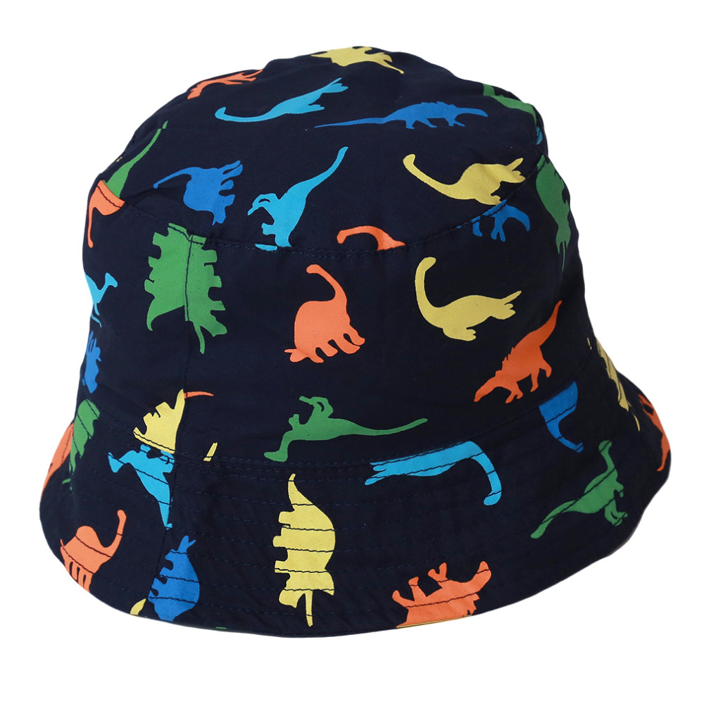 Children Boys Sun Hats Spring Summer Caps Cotton Bucket