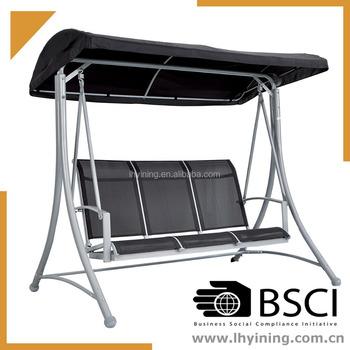 3 Seats Teslin Hanging Chairs Indoor Adult Swing Chair Patio Hanging Swing  Free Stand Hanging Chair