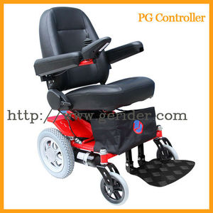 Wide wheels handicapped electric wheelchair (GEW3000)
