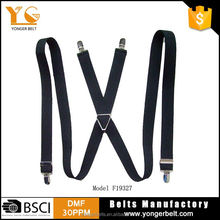 Factory supply custom design casual soft boys suspender