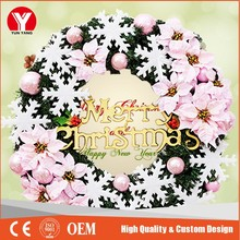 christmas wall garland,christmas outdoor decoration tree