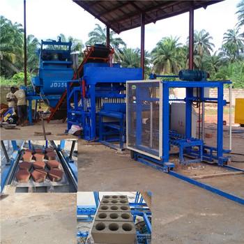 hydraulic brick machine