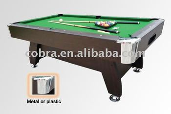 KBL 7901 United 9 Balls Pool Table With Ball Return System, Standard Size  Billiard