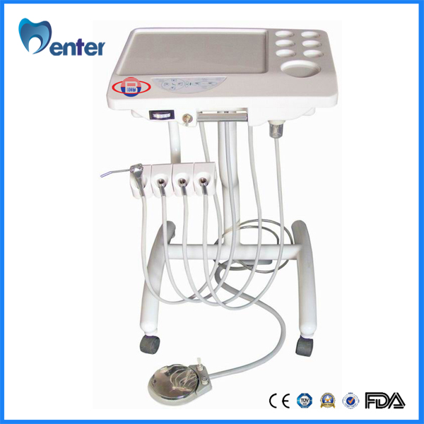 Portable Mobile Delivery System Unit / Portable dental unit / Electric hoist dental mobile cart