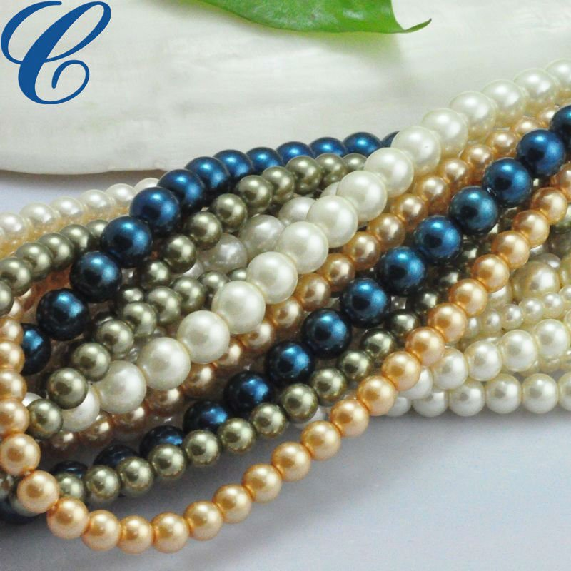 Strand Beads Fake Pearls