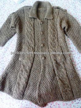 Alpaca Sweater for Children 3T Peru Handmade knitted