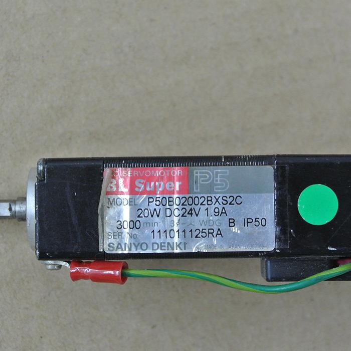 USED Sanyo Servo Motor P30B04010DXS1CM
