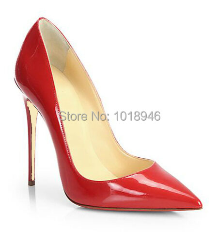 07f7e6a99d6 Get Quotations · hot selling red patent leather high heel shoes 2015 newest  pointed toe pumps designer stiletto heels