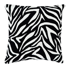 Scatter patchwork zebra print <span class=keywords><strong>outdoor</strong></span> kussens