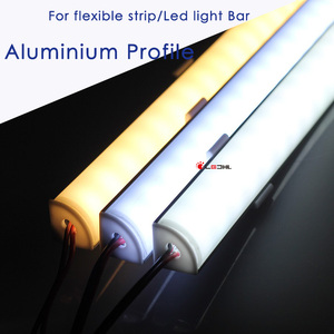 Aluminum Profile for flexible led strip /Led rigids strip/Led light Bar