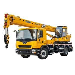 High quality XCT12L4 used wheel 12 ton truck crane on sale in sudan