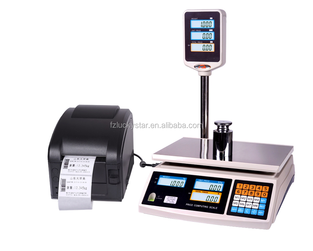 Acs-hpc Series Barcode Label Printing Price Computing Retail Scale ...
