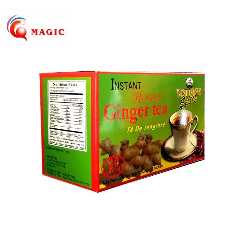FDA Approved Instant Honeyed Ginger Tea, Black Ginger Tea, Ginger Tea - 4uTea   4uTea.com