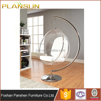 Bedroom Furniture Clear Acrylic Hanging Ball Chairs Transparent Bubble Chair