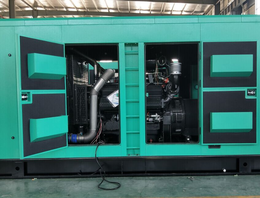 Silent 180kw/225kva engine diesel electric generator