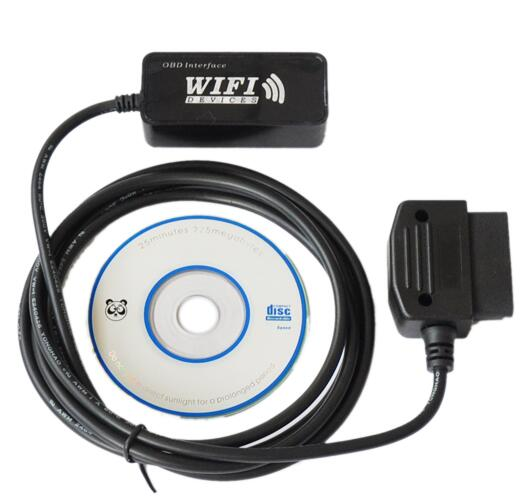 WI-FI OBD AUTO Checker Support IPhone IPod Touch IPad PC elm wifi OBDII Scanner