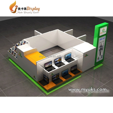 Multifunctional electronic products accessory showcase for computer/cell phone display kiosk