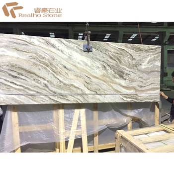 Ready Made Moon White Prefab Laminated Granite Countertops