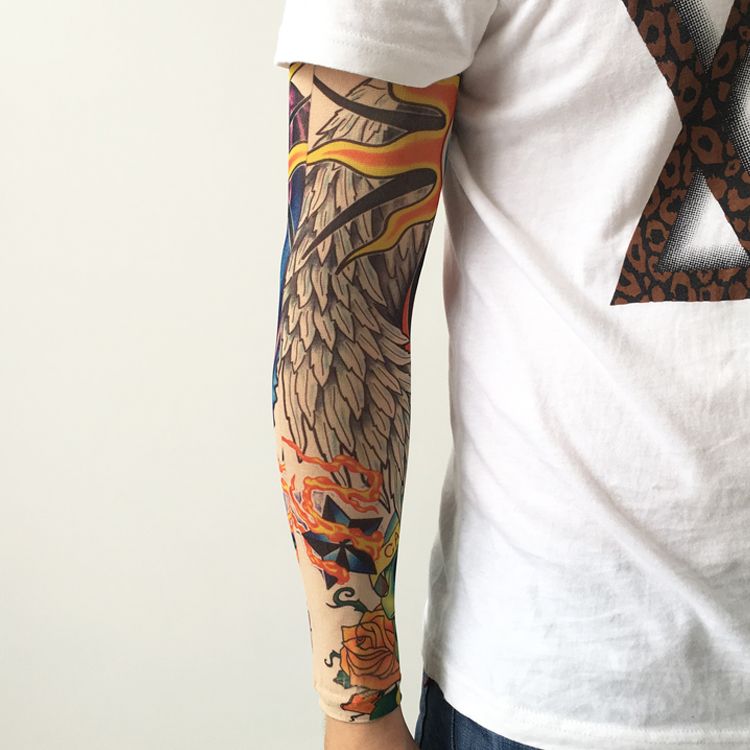 Design Your Own Tattoo Sleeve: Design Your Own Arm Sleeve Cool Tattoo Bicycle Cycling