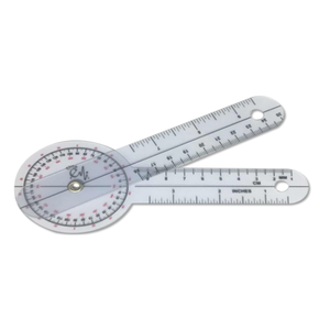 custom medical plastic folding scale round head Angle printing ruler