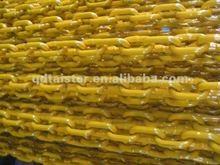 yellow painted G80 EN818-2 standard lifting chain