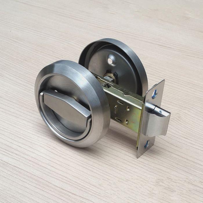 Round Kitchen Cabinet Recessed Sliding Door Handles