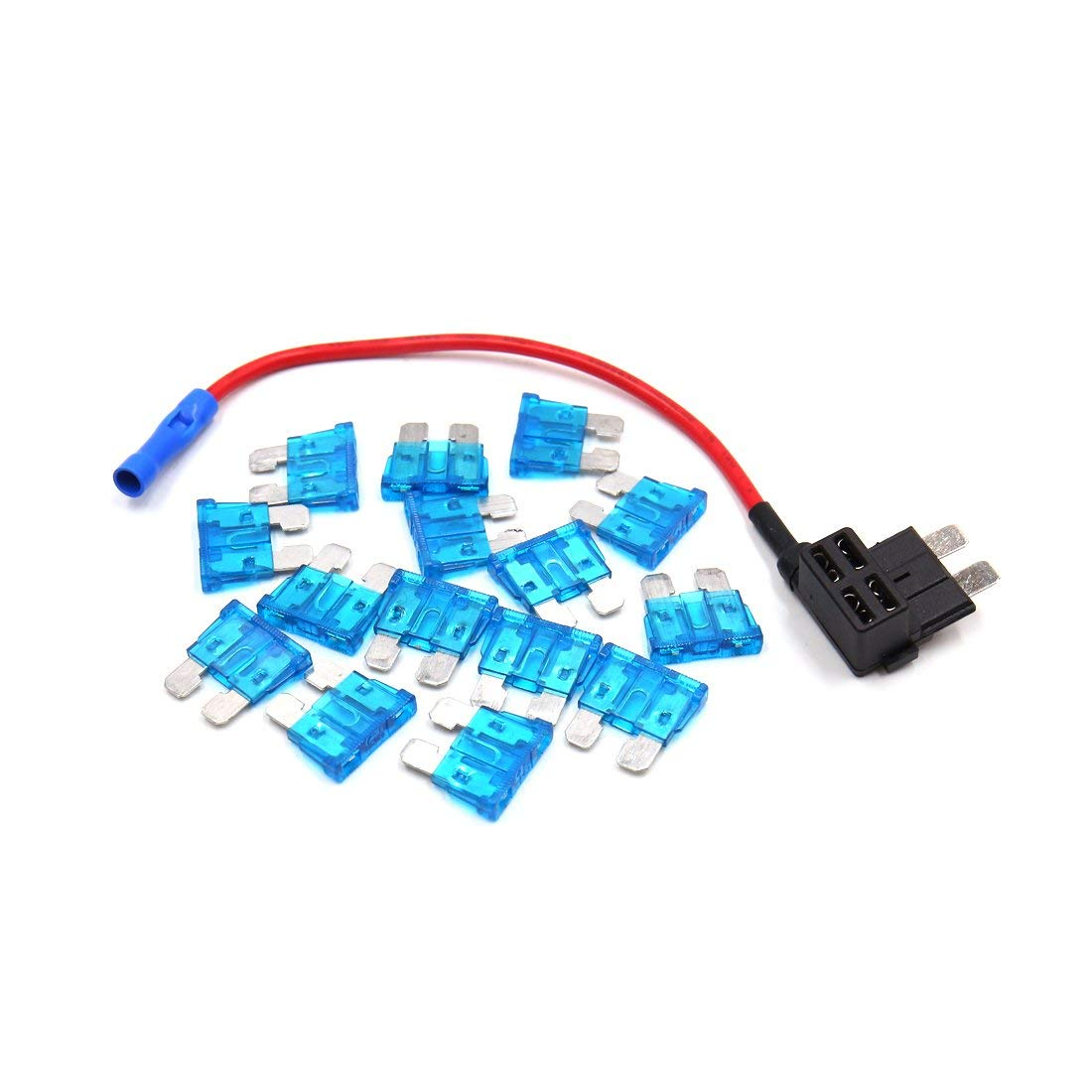 Cheap Car Fuse Tap Find Deals On Line At Alibabacom Addacircuit Blade Holder Get Quotations Uxcell Add A Circuit Standard 15a Atc Ato Regular Style