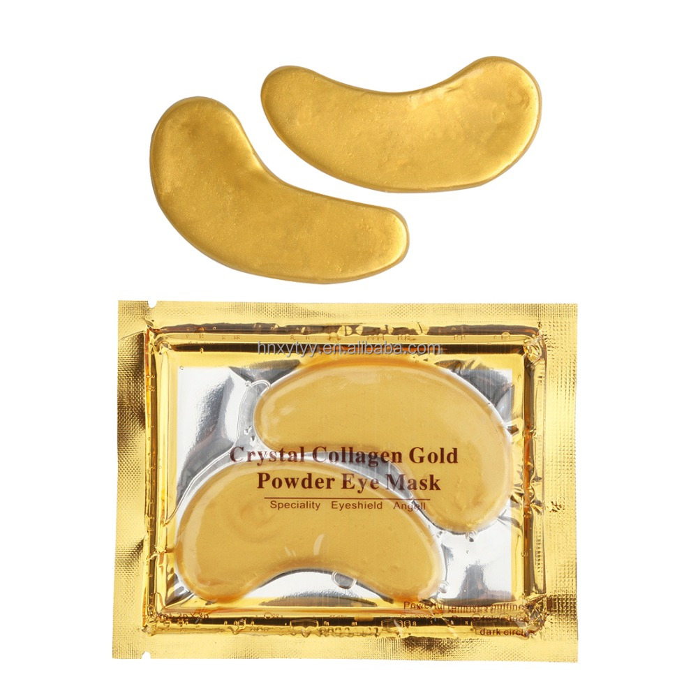 Hot Selling Hydro gel 24 K Gold Collagen Crystal Eye Mask