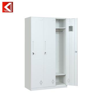 Witte Opbergkast Met Schuifdeuren.Opbergkast Met Storages Wit Beuken 3 Schuifdeur Kast Met Binnen