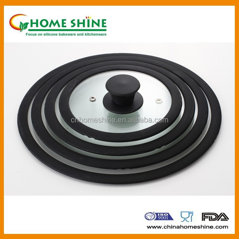 T Type Square Fry Pan Lid Food Grade Silicone