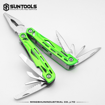 11 in 1 multi-purpose outdoor and household hand tools with pliers