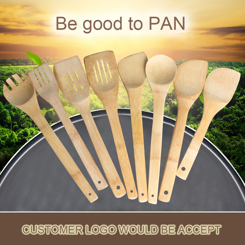 Best selling promotion natural Bamboo Cooking Kitchen Utensil