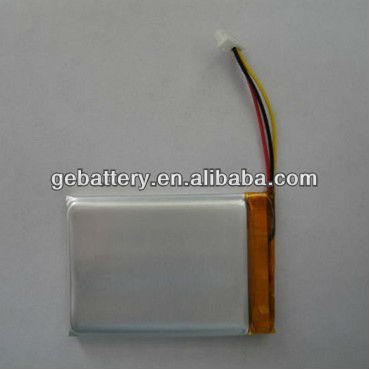 (in stock)3.7v li-ion battery 900mah with PCB and wire 503450