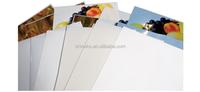 Self adhesive transparent polyester sticker paper roll for inkjet &memjet