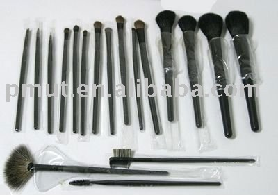 18pcs make-up brush kit