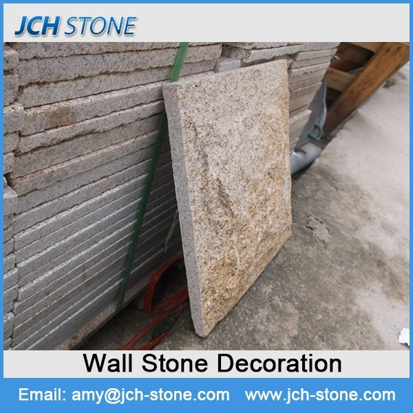 Simple processing granite sidewalk stone
