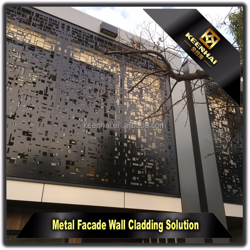 Laser Cut Indoor Decorative Aluminium Perforated Metal