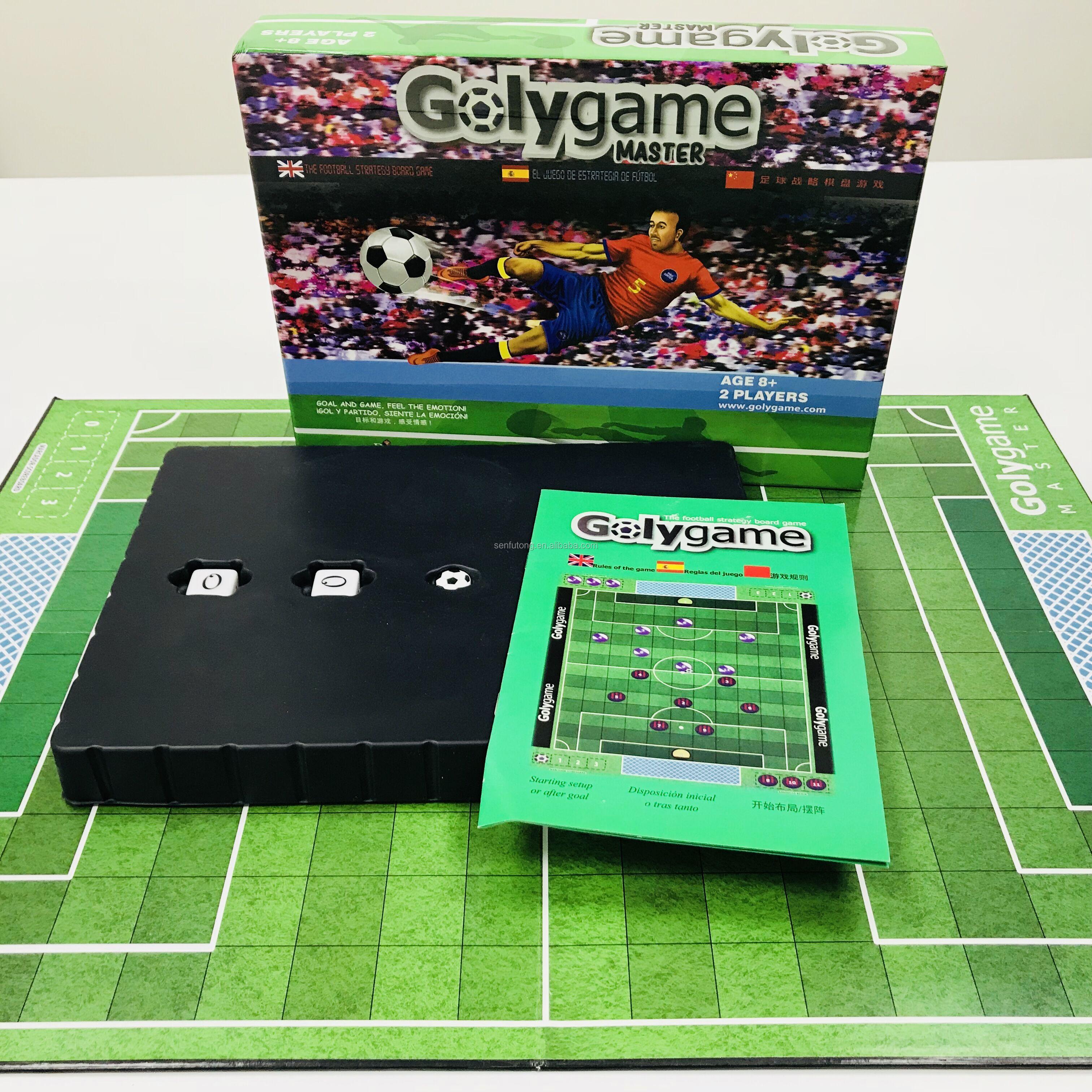 Round piece custom cardboard board game OEM board game
