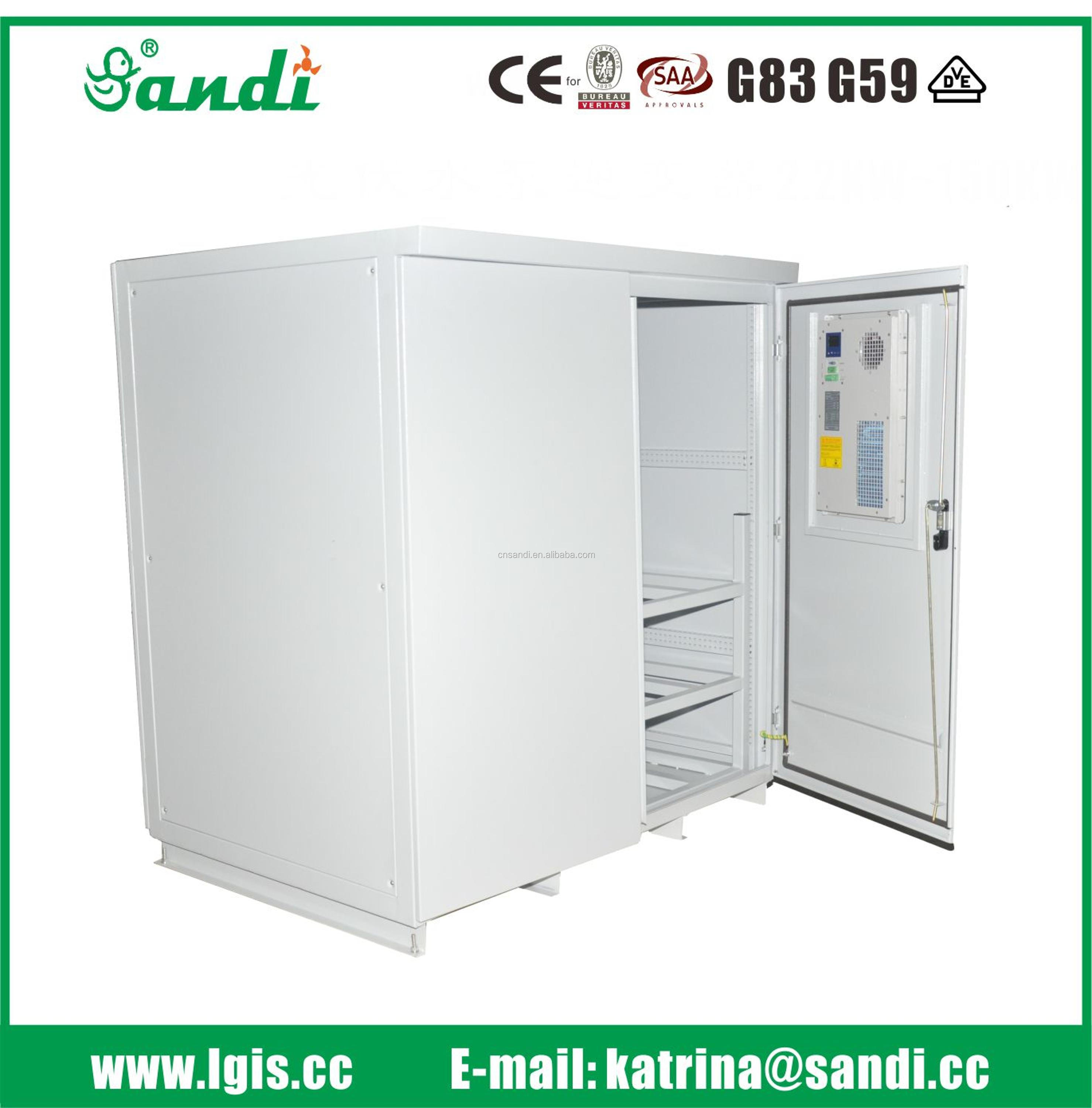 Inverter battery cabinet / Electric Control Cabinet, outdoor cabinet with air conditioner